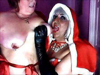 情婦聖誕和她的子蕩婦katrina pt 1