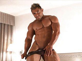 健美肌肌肉