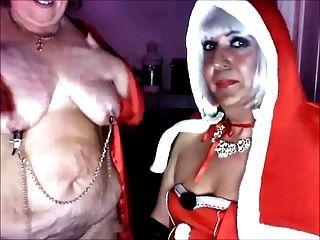 女主人聖誕節和她的子蕩婦katrina pt 3