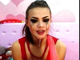 瘋狂deepthroat女孩1
