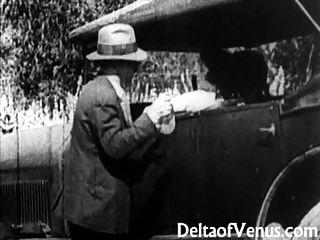 罕見的古董色情,1900年代初免費乘車