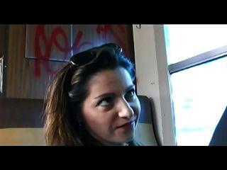 法國milf有肛門在火車