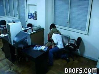 拉丁辦公室他媽的被隱藏的凸輪