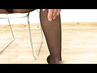 連褲襪腿,屁股和腳崇拜