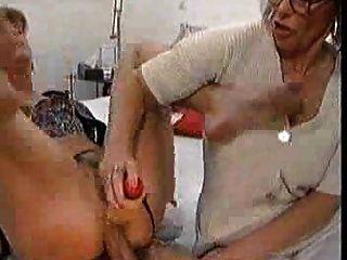 成熟肛門3some