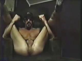 骯髒的說話str8 redneck手指他媽的他的孔&cums!