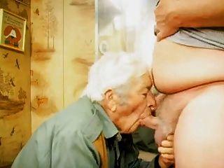 面對他媽的爺爺
