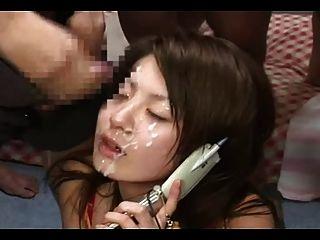電話bukkake 2
