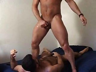 色情明星在訓練