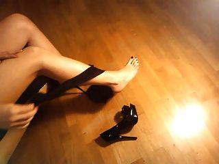 ladymm意大利milf,高跟鞋和褲襪