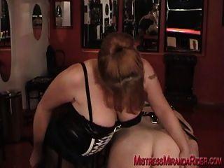 肛門訓練和打屁股與米蘭達
