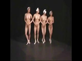 裸體芭蕾舞演員1