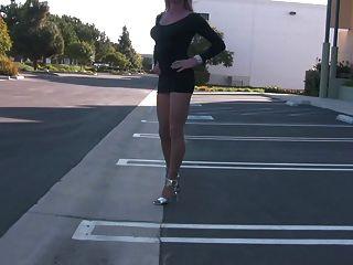 迷你連衣裙!彎曲!