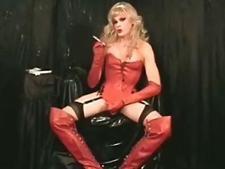 吸煙熱barbi緞