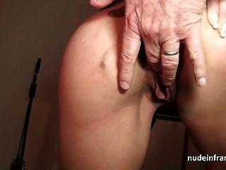 法國媽媽硬肛門他媽的和臉部化在3way