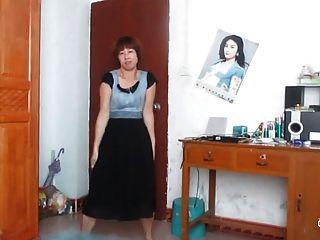 中國老婦人跳舞