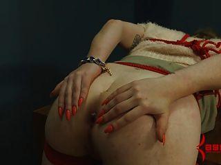 assmouth 2:痛苦的肛門破壞為瘦的受虐狂