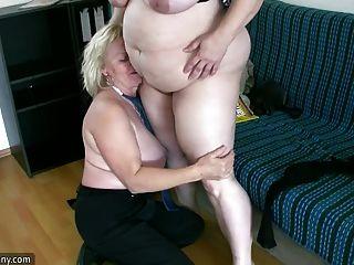 oldnanny性感胖胖的成熟和bbw奶奶