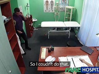 fakehospital護士吮吸雞精的精子樣本