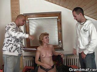 性感奶奶雙滲透