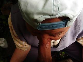 80歲的爺爺吸我