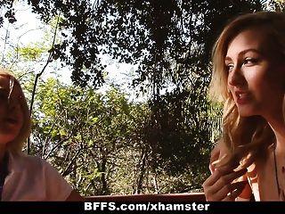 bffs夏令營輔導員記錄女同性戀狂歡