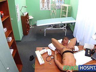 fakehospital性感可疑醫生妻子有熱的性