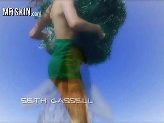 夏令營電影的名人赤身裸體和他媽的