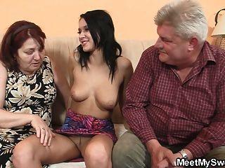 非常老夫婦他媽的青少年