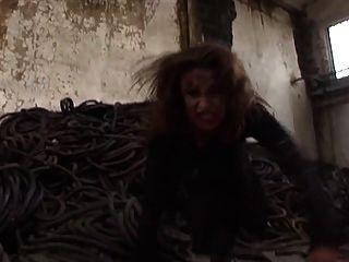 吸血鬼性慾的核心色情音樂錄像goth油跳舞