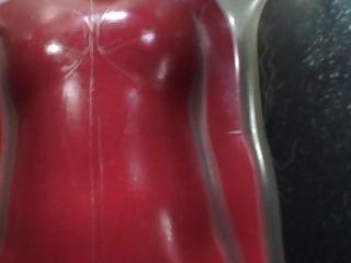 日本乳膠catsuit 96