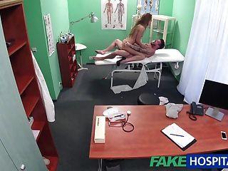 fakehospital護士他媽的硬的病人