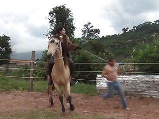 毛皮鞭打騎乘女神阿馬克