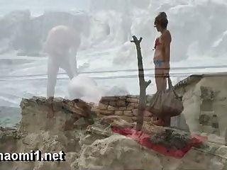 在公共海灘naomi見面lexo