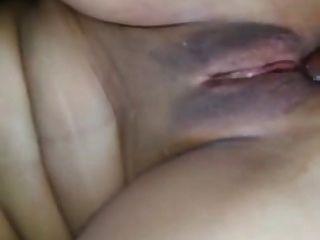 熱阿拉伯痛苦的肛門