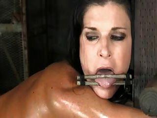 成熟的pornstar綁起來和他媽的辛苦