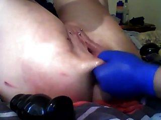 sexysasha拳頭肛門貓玩具