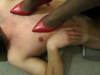 殘酷的中國女主人與她的個人奴隸