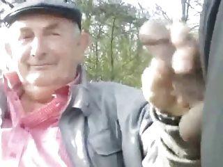 爺爺在公園