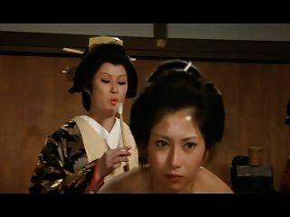 日本后宮:屁股羽毛的性高潮conc的妓女