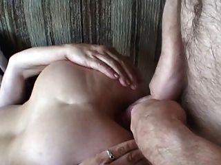 胖的成熟肛門蕩婦