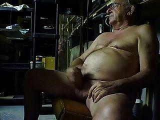 爺爺下班後