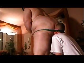 色情和音樂ssbbw dom和她的男奴隸