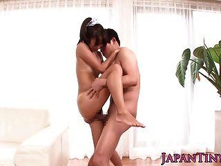 噴出微小的日本在比基尼性交硬