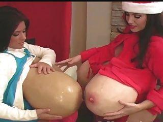檀香和霍莉聖誕節