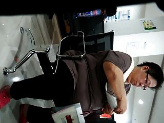可愛的胖中國奶奶