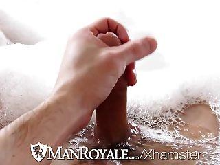 高清manroyale可愛的傢伙他的屁股洗了他媽的