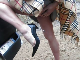 塑造我的腿和鞋子