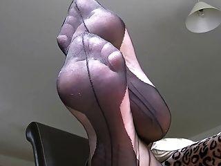 黑色全塑襪子2