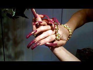 長指甲戀物癖。